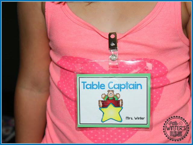 Table Captains Freebie!