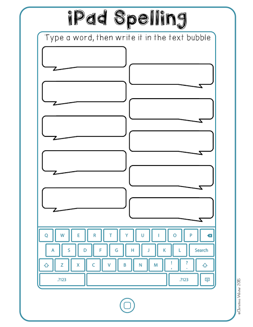 Free spelling activities perfect for any word work center!
