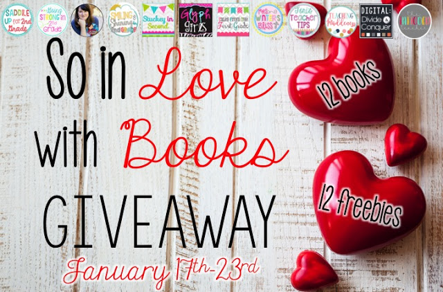 So in Love…With Books Giveaway & Freebie!