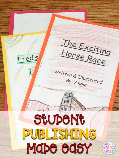 The Writing Process {ideas & a freebie!)