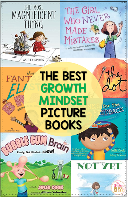 The best books to teach kids about growth mindset! Take a peek to see what you can teach children through these read alouds.