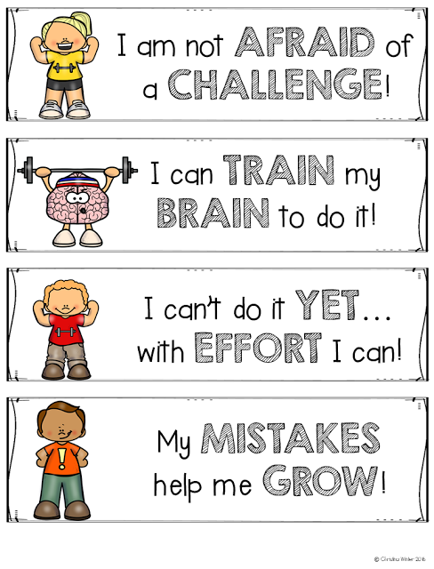 Free Growth Mindset Resources Do your students have a growth mindset or a fixed mindset?