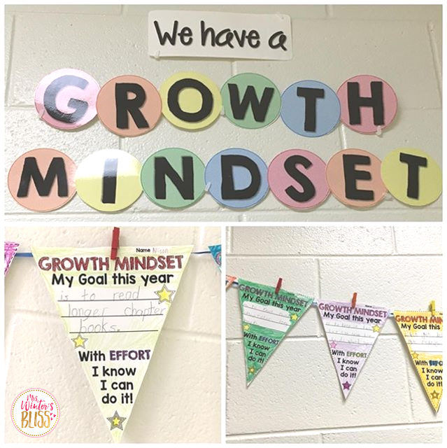 growth mindset flags