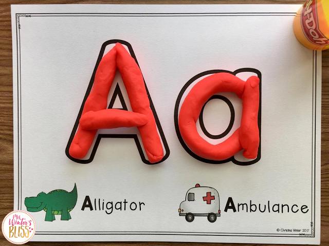Fine motor alphabet activities