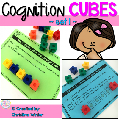 This set of 56 interactive logic puzzles will have kids begging for more! Easy to use, these brain teasers are a great math center that will keep kids engaged while thinking logically. These puzzles are perfect to help your 1st and 2nd grade students learn to persevere through challenging tasks.