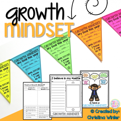 Do your students have a growth mindset or a fixed mindset? These engaging activities are designed as a way to foster a Growth Mindset culture in your classroom with your students.