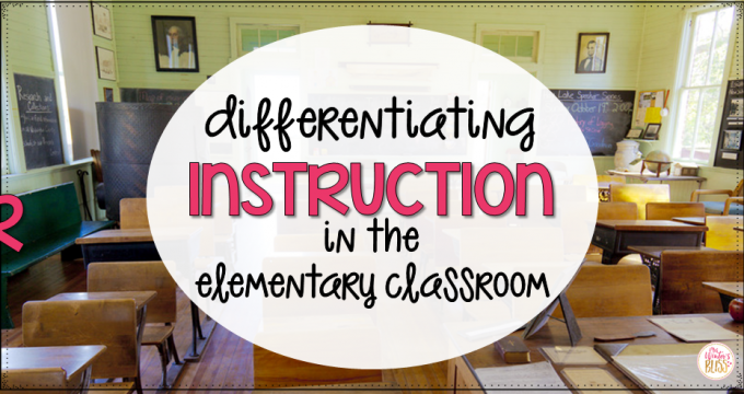 Differentiating Instruction in the Elementary Classroom