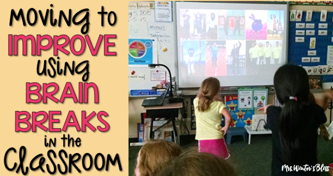 Moving to Improve: Using Brain Breaks in the Classroom