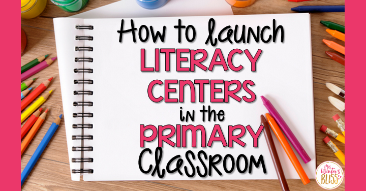 How to Launch Literacy Centers in the Primary Classroom