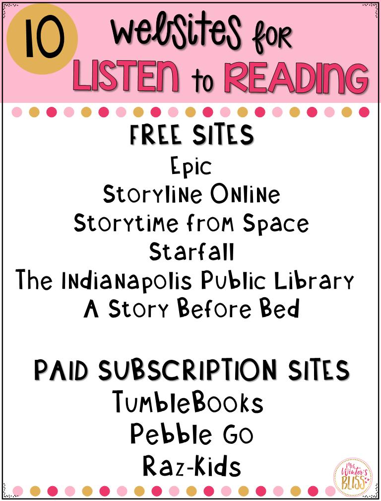 listen to reading websites