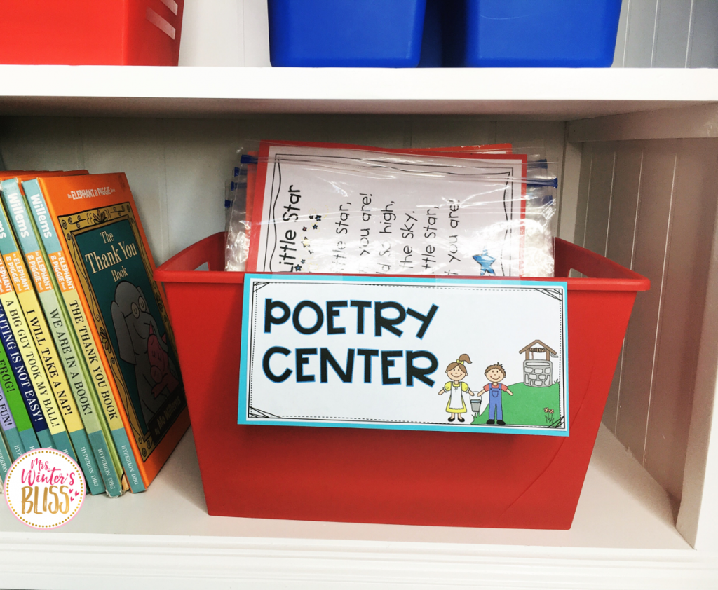 poetry center materials