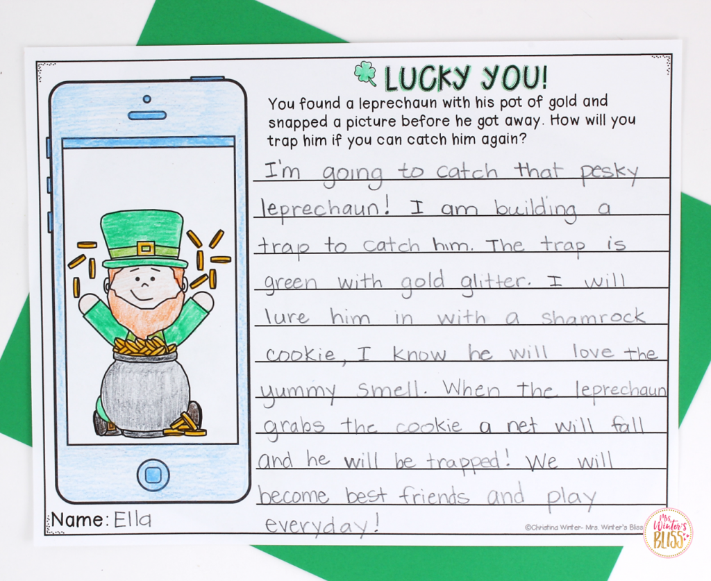 St Patrick S Day In The Classroom Mrs Winter S Bliss