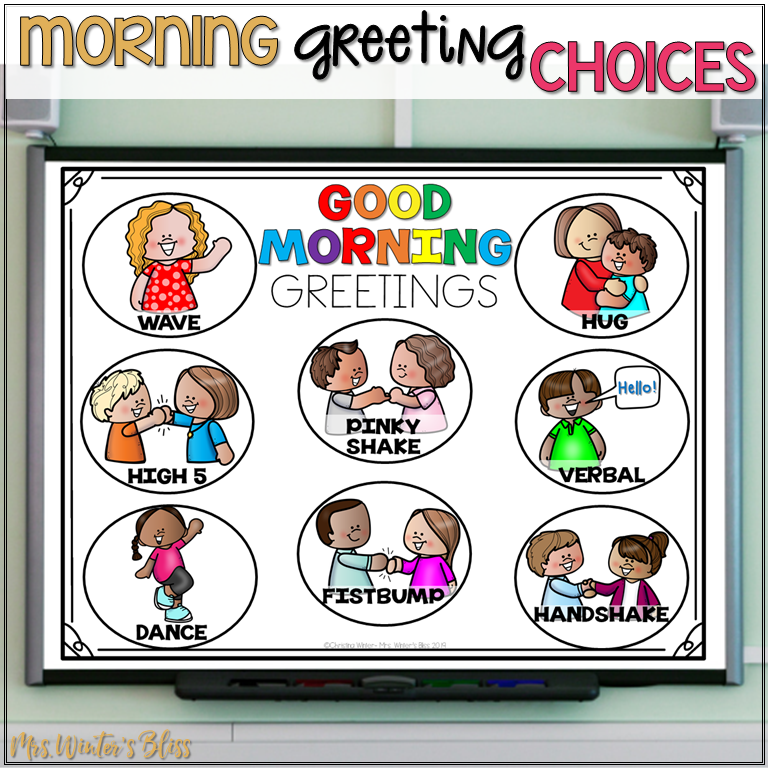 morning greeting choices