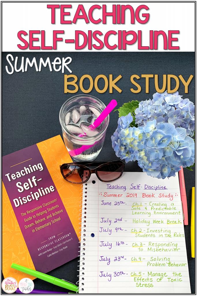 Teaching Self-Discipline - Summer Book Study - Mrs  Winter's Bliss