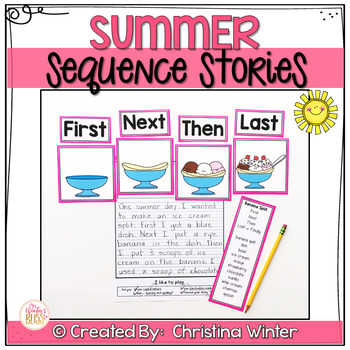 Sequence Writing Prompts - Summer