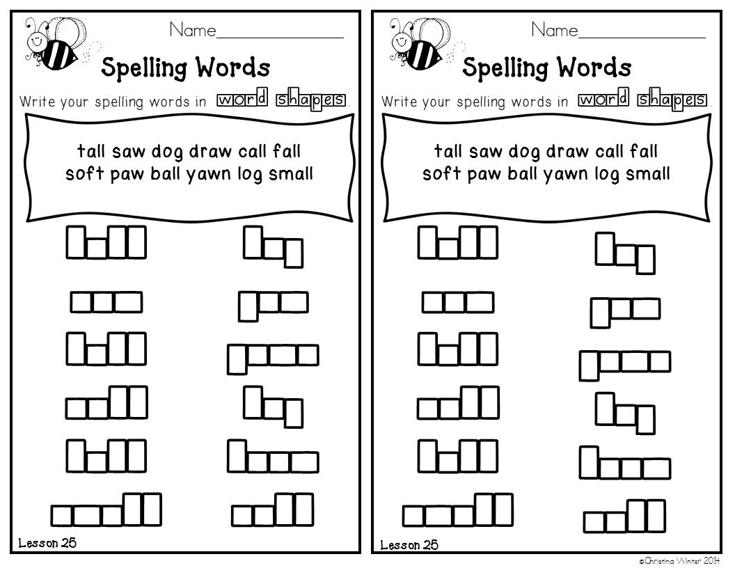 2nd Grade Spelling Lists EDITABLE - Mrs. Winter's Bliss