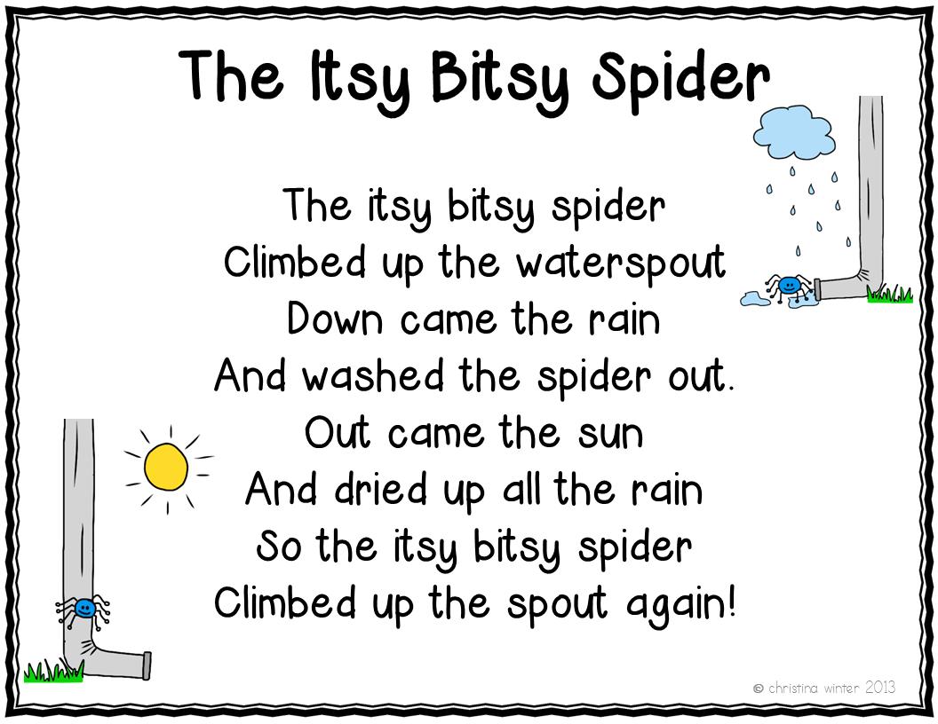 Nursery Rhymes Poetry Center 11 Poems