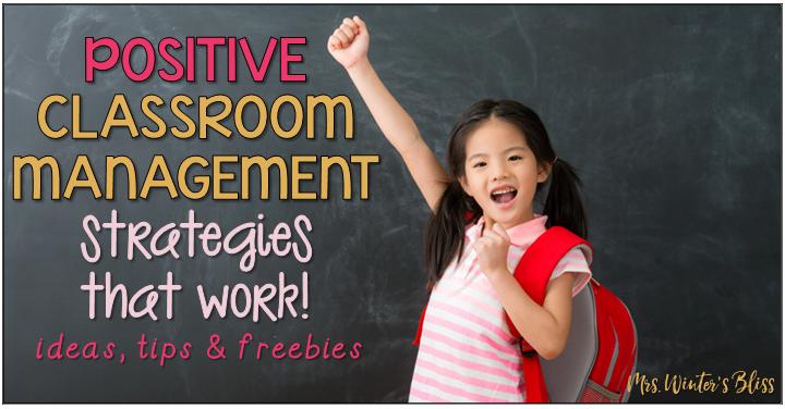 behavior management ideas