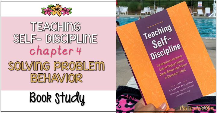 Teaching Self Discipline: Solving Problem Behavior